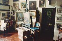 Helen Van Wyk's home studio